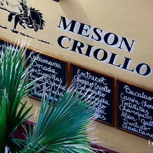 MESON CRIOLLO